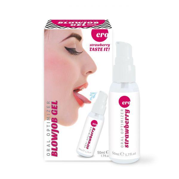 Стимулирующий гель Oral Optimizer Blowjob Gel Strawberry, 50 ml