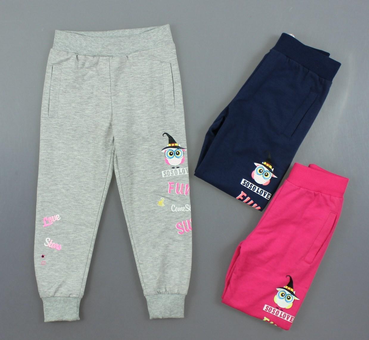 {есть:104} Спортивные брюки для девочек Grace ,98-128 рр.  [104]