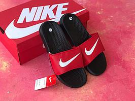 Сланцы/шлепки Nike(красные)