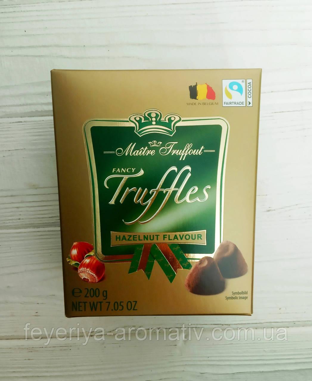 Трюфель Maitre Truffout Truffles Hazelnut Flavour, 200гр (Франция)
