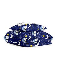Комплект детского постельного белья BEARS NIGHT SKY /реснички/