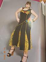 Платье с шифоновыми вставками