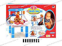 Стол доктора - игровой набор с куклой
