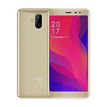 Смартфон с большим дисплеем и двойной камерой на 2 сим Allcall Rio X gold 1/8 гб