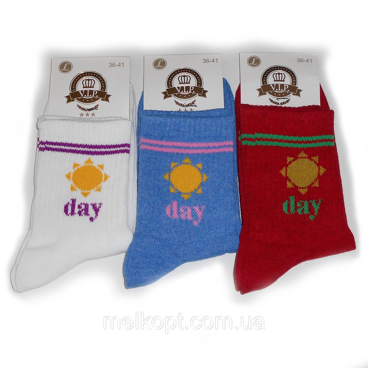 Женские носки с приколами V.I.P. - 10,50 грн./пара (высокие, Day)