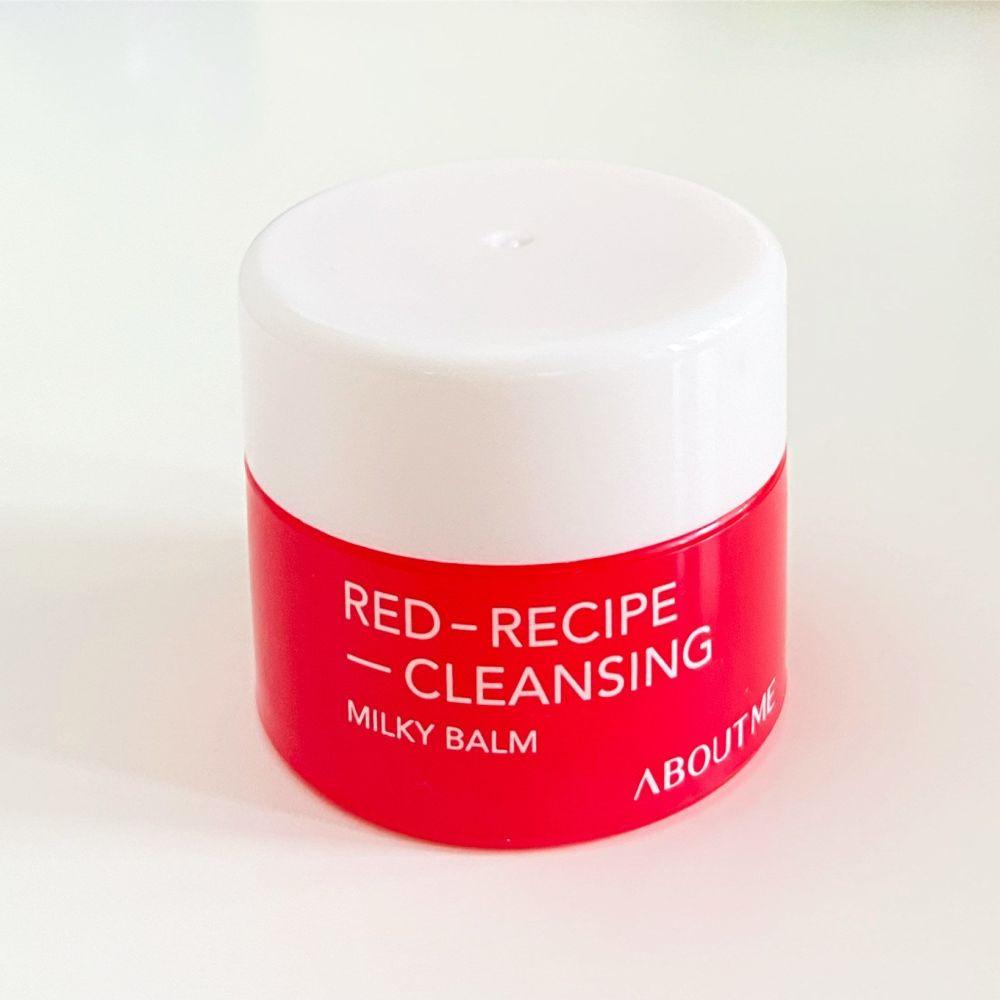 Очищаючий засіб для обличчя ABOUT ME Red Recipe Cleansing Milky Balm 8ml