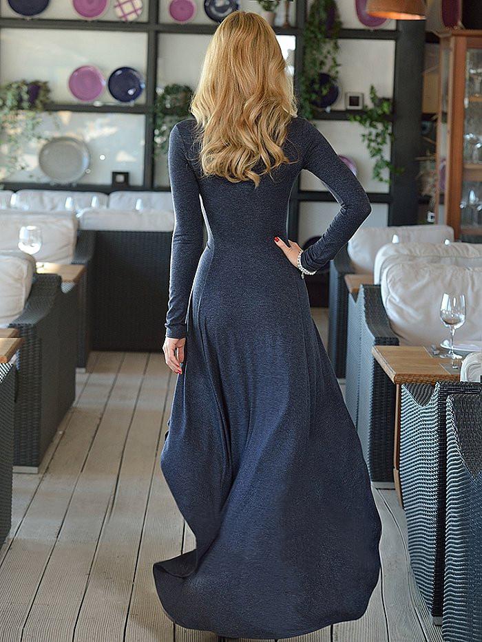 Платье аcиметричное от производителя Lusien Q59, фото 1