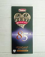 Шоколад без цукру і глютену Torras 100гр (Іспанія) Dark Chocolate 85% (чорний 85% какао), фото 1