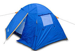 Палатка двухместная двухслойная с тамбуром и тентом Coleman 1001