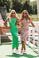 """Нереально крутое женское платье  """"SKY""""пряжа вязанный хлопок с вискозой"""