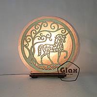 """Соляная лампа светильник """"Единорог"""""""