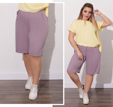 Женские шорты большие размеры