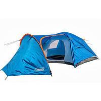 Палатка четырехместная с тамбуром и тентом Coleman 1009