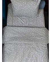 Набор постельного белья полуторный бязь Звезды