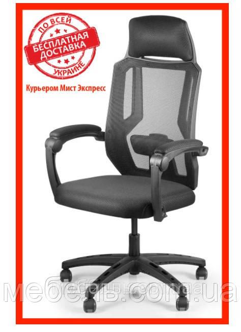 Кресло для врача Barsky CB-02 Color Black, сеточное кресло, черный