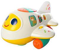 """Музыкальная игрушка для малышей """"Крошка Самолет"""" 6103 (на английском)"""