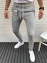 Мужские класические брюки серые лучшее качество Турция(Размер M,L)