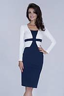 Строгое офисное  платье от производителя Lusien Р39