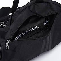 Сумка-рюкзак (2в1) с белым логотипом Adidas Judo (черный, ADIACC052J), фото 3