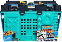 Трек Хот Вилс  Центральный Городской Квартал Оригинал Hot Wheels City Town Center Play Set Gift Idea (GKT86)