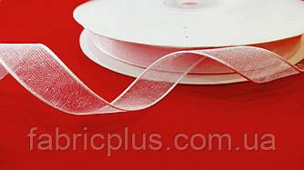 Лента  органза  10 мм  светло-розовая