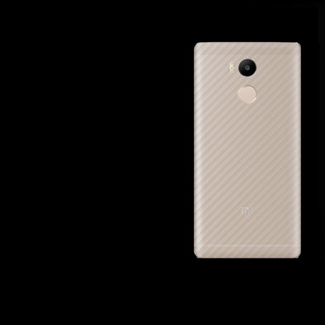 Защитная пленка на заднюю панель телефона Xiaomi Redmi 4 Pro