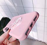 3D Чохол для Xiaomi Redmi 4A Котик з вушками і сердечком, фото 5