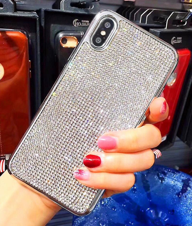 Силиконовый чехол с камнями для Samsung Galaxy S7 (SM-G930F)