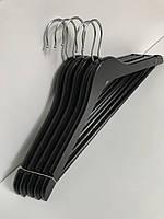 Вешалка деревянная, черная