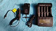 Зарядное устройство LiitoKala Lii-500 с блоком питания и автоадаптером. Оригинал, фото 7