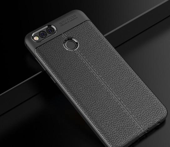 Защитный чехол-накладка под кожу для Huawei Honor 7X