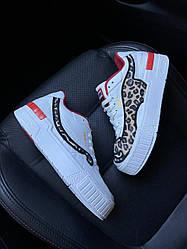 Женские кроссовки Puma  Cali Sport Charrlotte (белые)