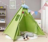 Детская палатка, Вигвам, детский домик, шатер - 5 цветов, фото 9