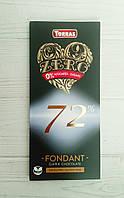 Шоколад черный 72% какао без сахара и глютена Torras Zero 100гр (Испания)