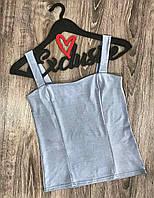Молодежная одежда, красивая женская майка ТМ Exclusive 407.