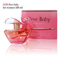 2438 ROSE BABY Christian for women 100 ml
