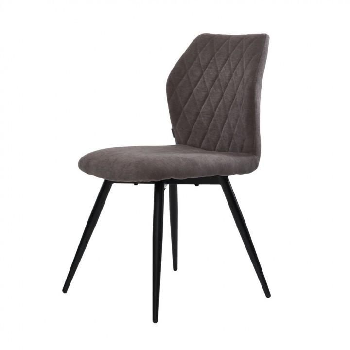 Обеденный стул GLORY (Глори) стоун грей, рогожка от Concepto