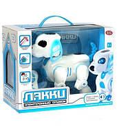 Умный пес Лакки 7588, интерактивная собака, обучающая игрушка PLAY SMART, на пульте управления