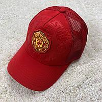 Красная кепка 19/20 Манчестер Юнайтед с сеткой, фото 1