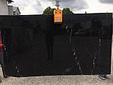 "Мрамор  ""Негро Морквина"" 20мм, фото 2"