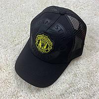 Черная кепка 19/20 Манчестер Юнайтед с сеткой, фото 1