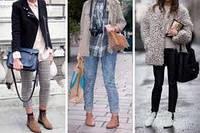 Женские замшевые туфли. ТОП-3 удачных комбинаций.