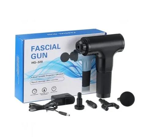 Массажер Fascial Gun HG-320 | Портативный ручной мышечный массажер для тела
