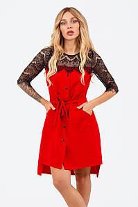 Вечірнє жіноче плаття Adelin, червоний
