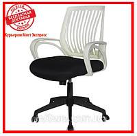 Офисное компьютерное кресло Barsky Office plus White/Black OFW-01