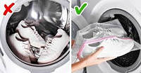 Как правильно стирать кеды и кроссовки в стиральной машине.