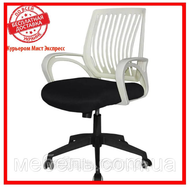 Компьютерное детское кресло Barsky Office plus White/Black OFW-01