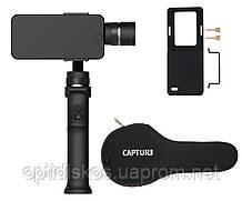 Стабилизатор/стедикам для смартфона Funsnap Capture 3 Handle Gimbal + крепление для GoPro + Чехол