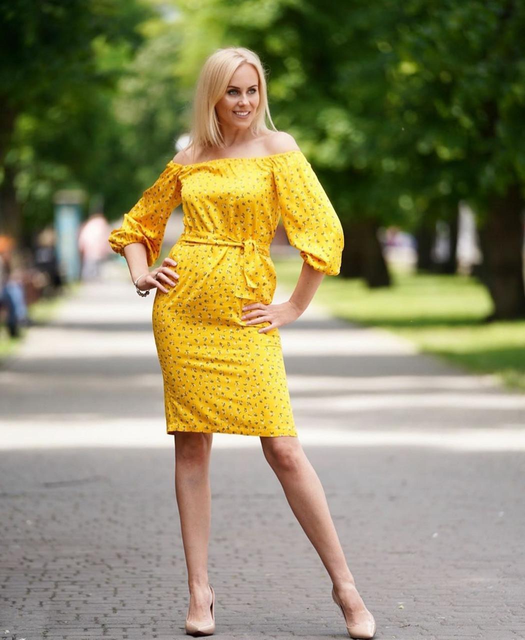 Женское стильное нарядное платье 42,44