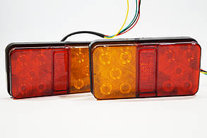 Фонарь задний LED (12v 150мм х 80мм х 22мм)
